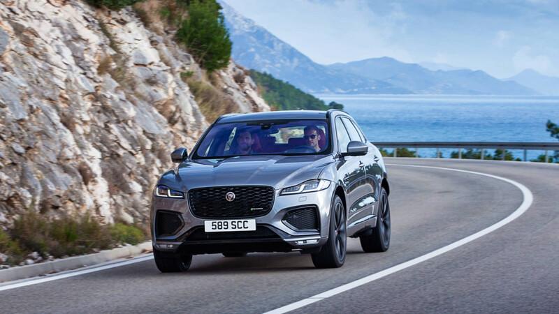 Jaguar F-Pace 2021, SUV renovada y ahora con versiones electrificadas