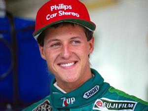 Michael Schumacher debutó hace 25 años en la F1