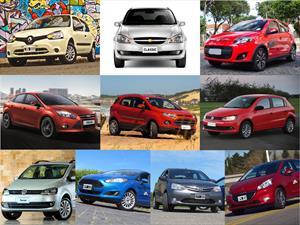 Top 10 los autos más vendidos en agosto de 2014