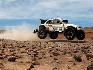 Dakar 2015: DunBee, el Escarabajo que impresiona en el desierto
