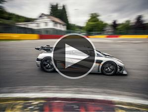 Video: Koenigsegg One:1 al ataque del circuito Spa-Francorchamps