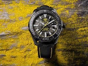 Relojes clásicos de TAG Heuer están disponibles en fibra de carbono