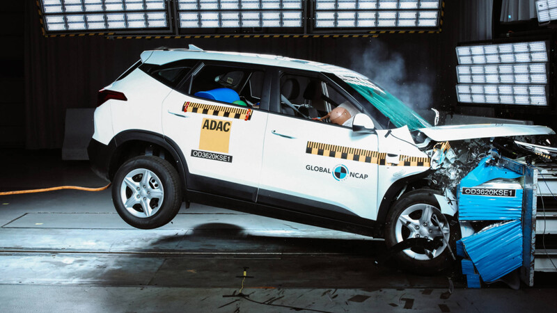 Seguridad KIA Seltos en Global NCAP
