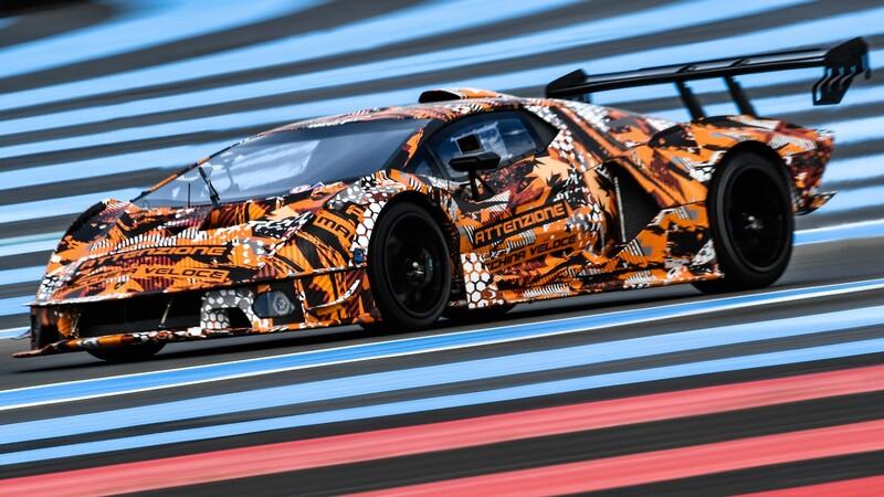 Lamborghini SCV12 es un poderoso y exclusivo auto para uso exclusivo en pista