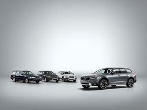 Volvo celebra los 20 años de sus versiones Cross Country
