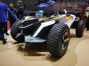Hyundai Kite, un buggy que además de ser eléctrico es anfibio