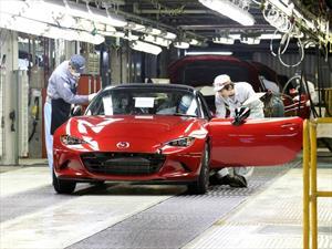 Mazda empezó a fabricar el nuevo MX-5