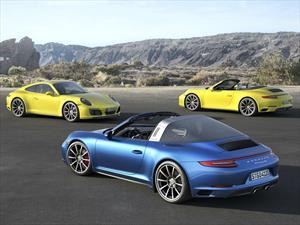 Porsche 911 Carrera 4 y 911 Targa 4 2017, más aceleración y eficiencia