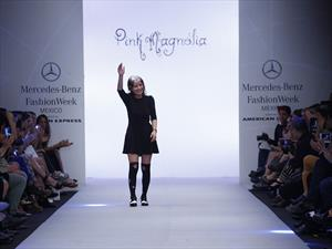 Pink Magnolia engalana el Mercedes-Benz Fashion Week México