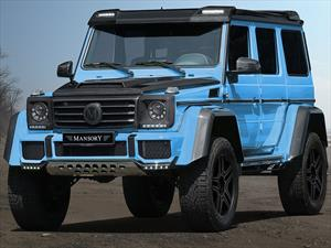 Mercedes-Benz G 500 4x4² by Mansory, pitufo con esteroides
