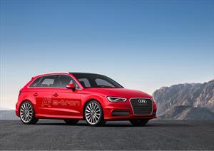 Audi A3 e-tron con sistema híbrido conectable se presenta