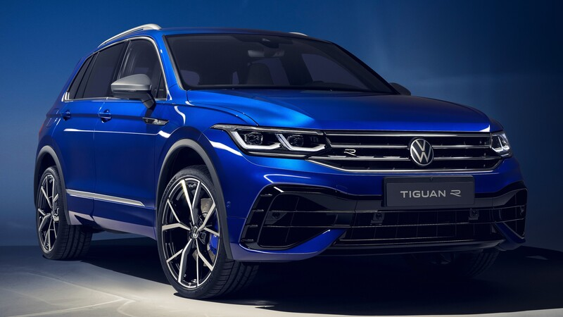 Volkswagen Tiguan R 2021: 320 hp y una dinámica de conducción superior