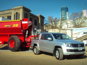 Volkswagen Amarok y Saveiro presentes en La Rural