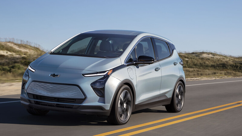 Chevrolet refresca al Bolt EV 2022