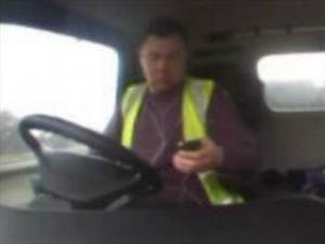 Video: Un accidente causado por distracción
