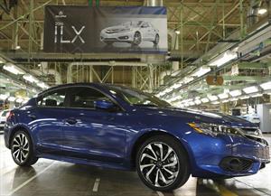 Acura ILX 2016 inicia su producción