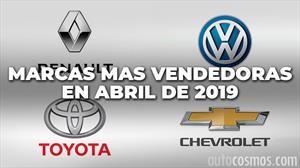 Top 10: las marcas más vendedoras de Argentina en abril de 2019
