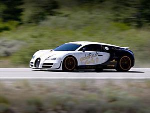 Video: El sonido de un Bugatti Veyron Super Sport a casi 400 Km/h