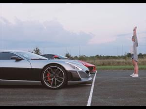 Video: Rimac Concept One humilla al Ferrari LaFerrari