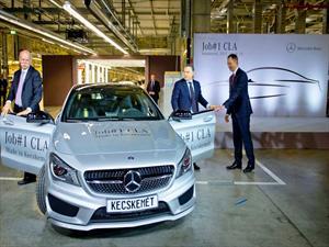 Mercedes-Benz CLA entra en la línea de producción