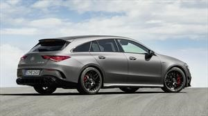 Mercedes-AMG CLA 45 Shooting Brake, un station wagon compacto con más de 400 hp