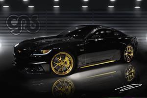 Un Ford Mustang se llena de oro por culpa de Galpin Auto Sports