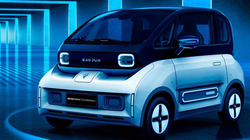 Baojun E300 2021, un auto eléctrico de General Motors con tecnología Xiaomi