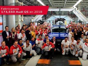 Audi México supera su meta de producción en 2018