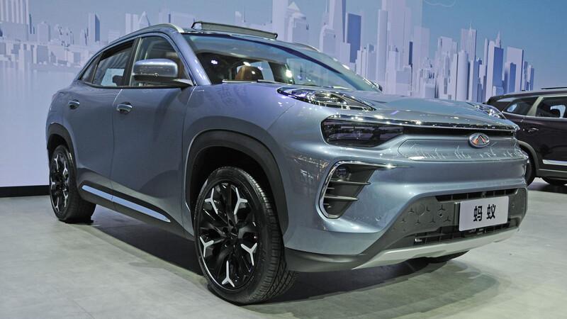 Chery Ant EQ5, el SUV a baterías en Beijing 2020