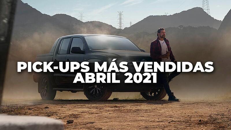 Pick-ups más vendidas en Colombia en abril de 2021