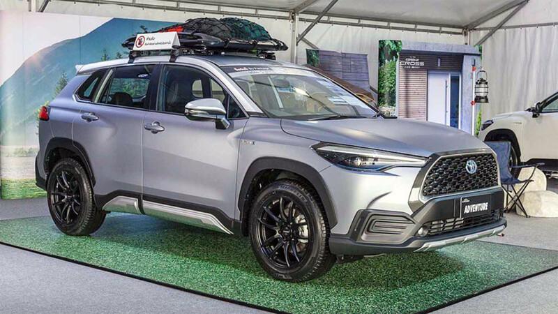 Toyota Corolla Cross Adventure 2021, un toque más rudo para la nueva SUV