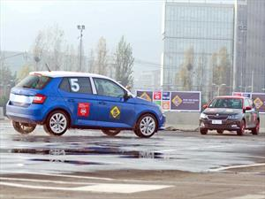 Skoda Fabia elegido por Latin NCAP para demostrar tecnología en seguridad