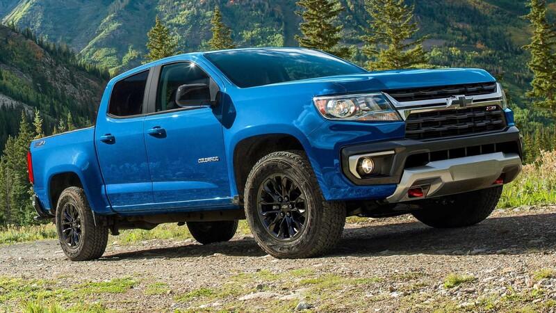 Chevrolet Colorado 2022 agrega una versión Trail Boss