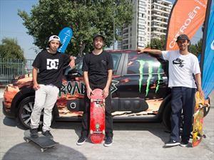 Citroen, Monster y DC se van en busca de los mejores skaters con 120 mil pesos de diésel