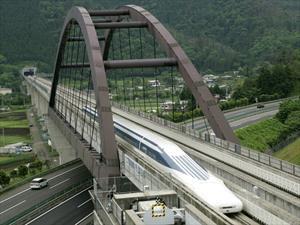 Tren japonés rompe récord de velocidad