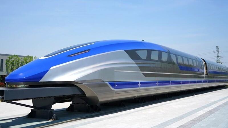 China: tren de levitación magnética supera los 600 km/h