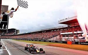 F1 2019: Verstappen pesca bajo la lluvia de Alemania