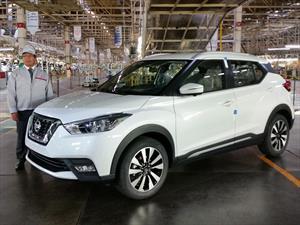 Nissan inicia la producción del Kicks 2017