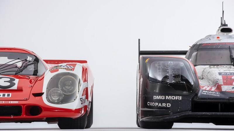 Porsche festeja los 50 años de su primer triunfo en Le Mans con una reunión muy especial