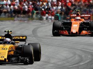 F1: McLaren cambia los motores Honda por Renault