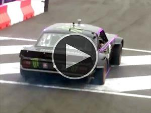 Ken Block se accidenta en su Mustang The Hoonicorn