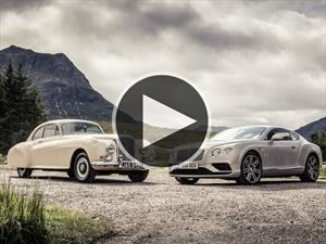 Video: Bentley Continental celebra 63 años
