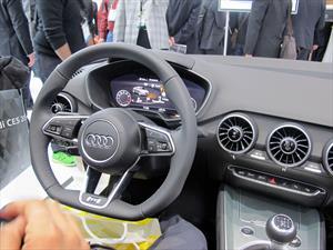 Este es el espectacular tablero del nuevo Audi TT