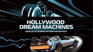 Hollywood Dream Machine es la exhibición de los carros de ficción más importantes