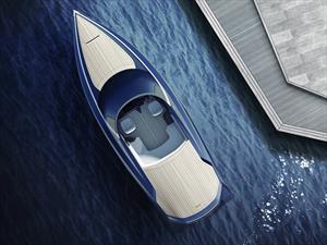 Aston Martin y Quintessence Yachts son los creadores de esta lancha rápida