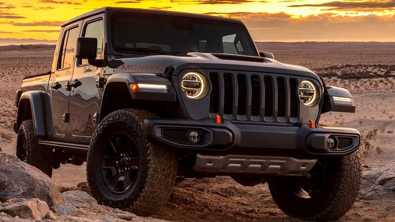 Jeep podría presentar una pickup más compacta que Gladiator