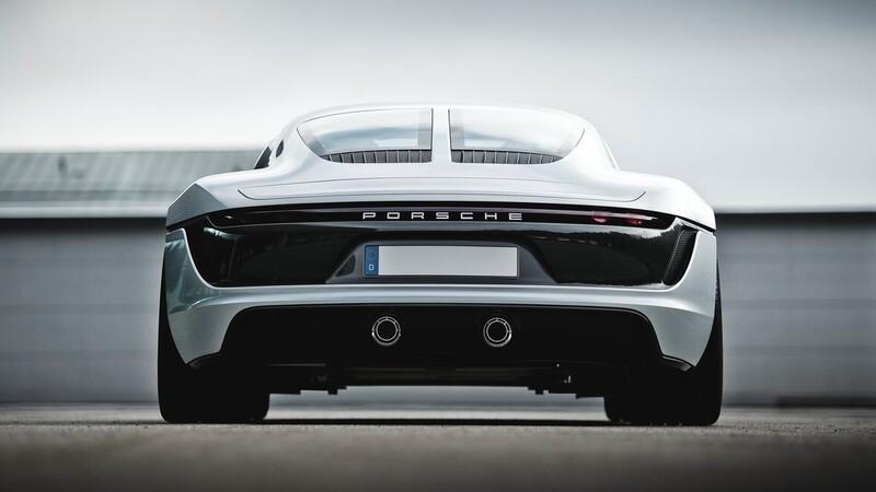 Homenaje visual a prototipos inspirados en autos de carreras de Porsche
