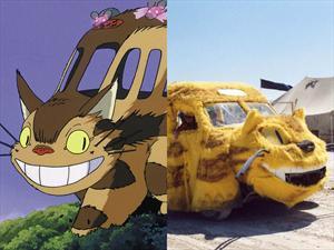 Catbus de Totoro se vuelve realidad