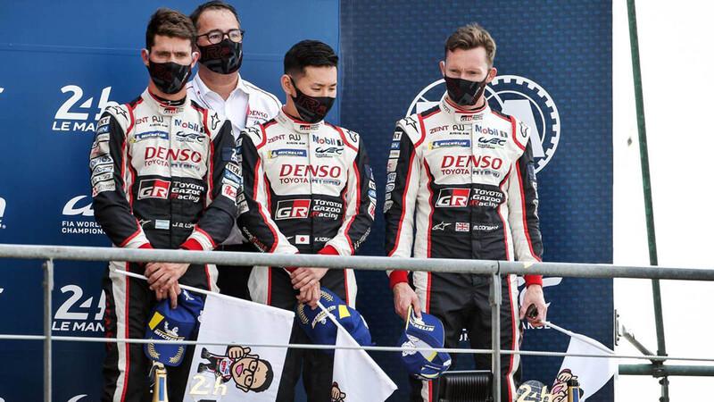 24 Horas de Le Mans 2020: Toyota gana, Pechito en el podio