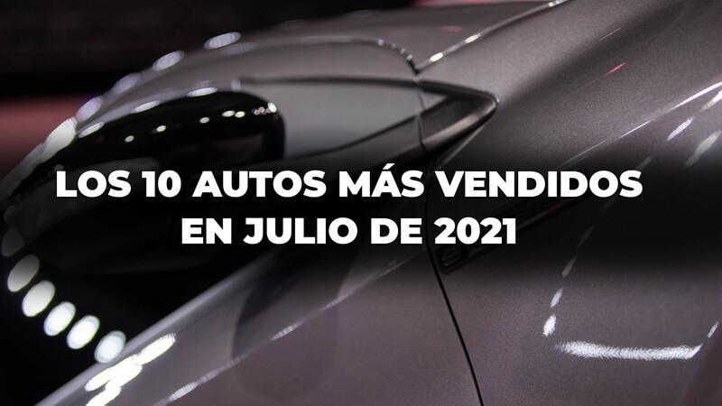 Los 10 autos más vendidos en Argentina en julio de 2021